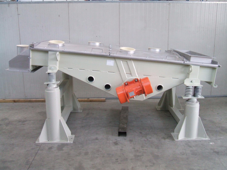 Vibrating table forinert materials ptl for Table vibrante